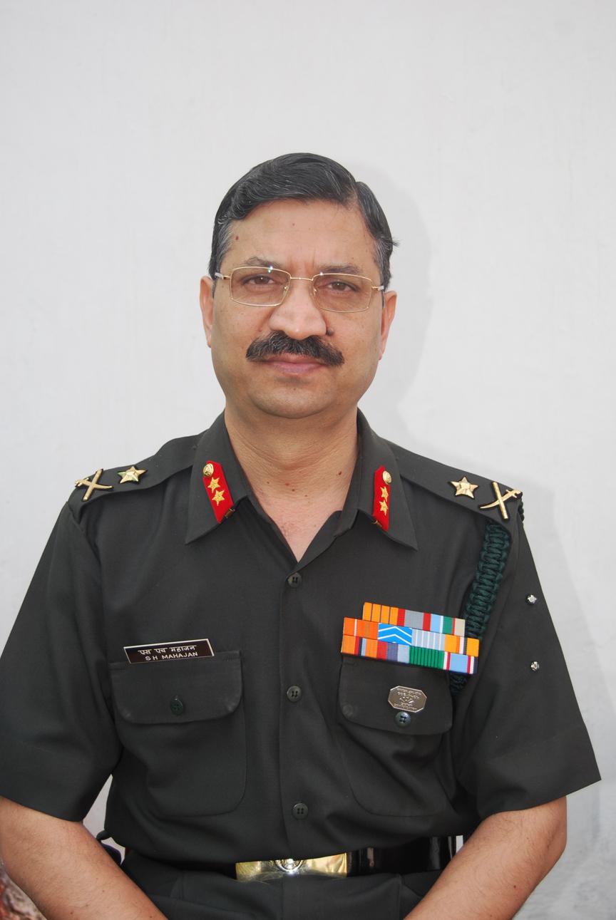 Maj Gen Shishir H Mahajan